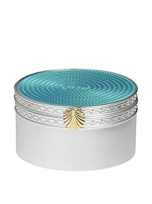 Vera Wang Wedgwood Treasures with Love Aqua Seashell Treasure Box