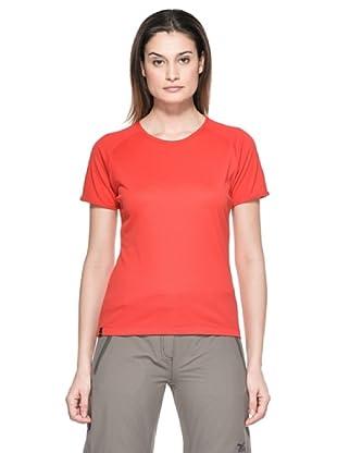 Salewa Camiseta Sporty Dry W (Rojo)