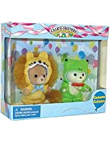 Calico Critters Costume Critters -  Frog and Lion