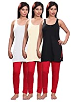Selfcare Set Of 3 Women's Camisole