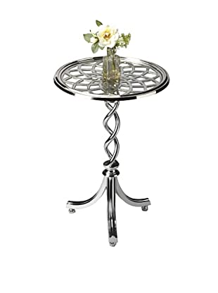Butler Specialty Company Polished Aluminum Accent Table