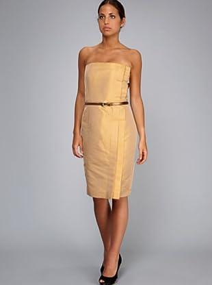 Caramelo Vestido Fiesta (amarillo)