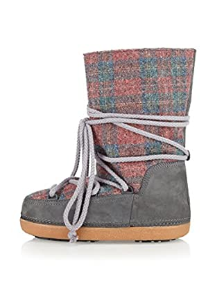 IKKII Winterstiefel Scottish Pattern Tall