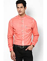 Pink Casual Shirt Peter England