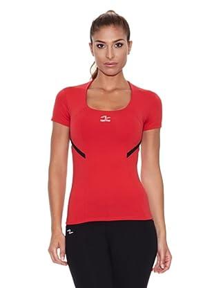 Naffta Camiseta Manga Corta Rone (Rojo / Negro)