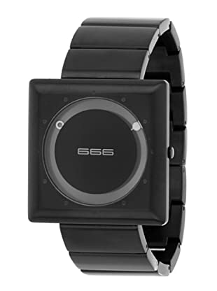 666 Barcelona  Reloj Megabyte Black