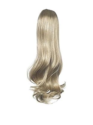 Love Hair Extensions Victorian Pferdeschwanz - Befestigung durch Gummizug - Hochwertiges Kunsthaar - Farbe 18/22 - Aschblond/Strandblond, 1er Pack (1 x 1 Stück)
