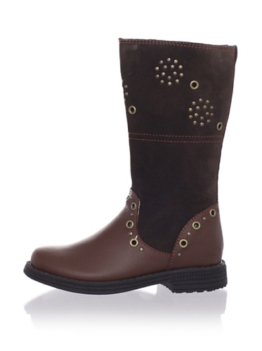 umi Kid's Chaarm Tall Boot (Toddler/Little Kid) (Cocoa)