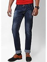 Jctex Men's Denim Slim Fit Jeans (P R 2 Design 34 _Blue _34)