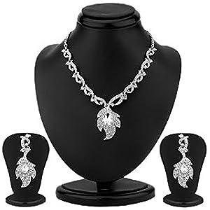 Sukkhi Gleaming Australian Diamond Necklace Set
