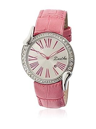 Bertha Uhr mit Japanischem Quarzuhrwerk Olive rosa 38 mm