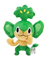 Banpresto Pokemon Best Wishes Movie Plush 2012 - 47931 - Pansage/Yanappu