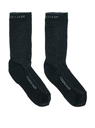 Icebreaker  Ib Socks Hike (Jet/Nickel/Black)