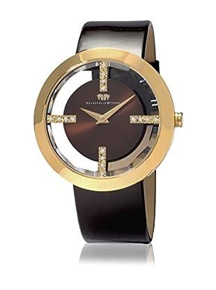 Rhodenwald & Söhne Reloj con movimiento cuarzo japonés 10010010 Marrón 42  mm