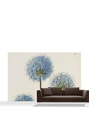 Royal Horticultural Society Allium Caeruleum Mural, Standard, 12' x 8'