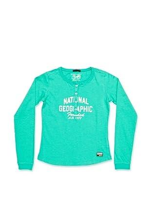 National Geographic Camiseta College (Verde)