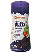 Happy Puffs Purple Carrot And Blueberry - 2.1 Ounce
