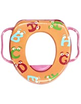 Wonderkids Alphabets Print Baby Cushioned Potty Training Seat With Handle ( 2205-APCPTS )