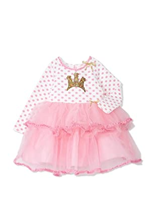 Fancy Nancy Girl's Crown Dress (Pink)