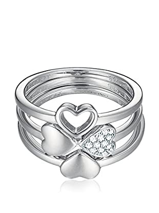 Esprit Steel Ring Lucky Love