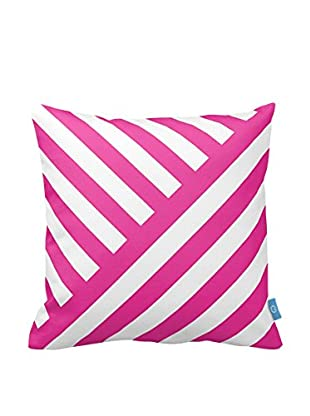 Your Living Room Kissen pink/weiß