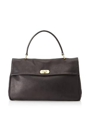 MARNI Women's Turn Lock Handbag, Black