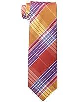 Tommy Hilfiger Men's Big Twill Plaid Tie