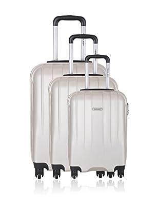 Travel One Set de 3 trolleys rígidos Warrington