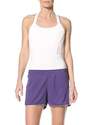 New Balance Women's Colorblock Tempo Short (Prism Violet)