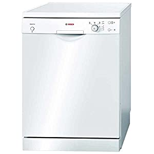 Bosch Trademark Classic White Colored Dishwasher With 12 Place Setting - Model Number SMS40E32EU