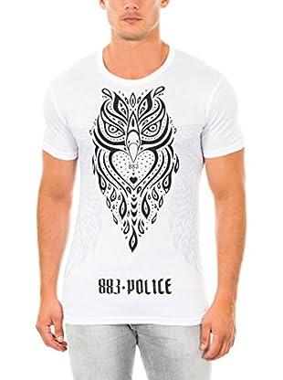 883 Police T-Shirt Manica Corta Owl