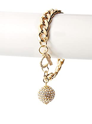 Daniela Swaebe 18K Gold-Plated Disco Diva Chain Toggle Bracelet