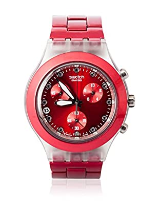 Swatch Quarzuhr Unisex Unisex FULL-BLOODED SUNSET SVCK4044AG 43.0 mm