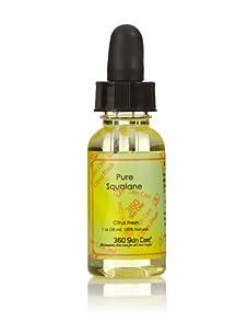 360 Skin Care Pure Squalane Oil, Citrus Fresh, 1 oz