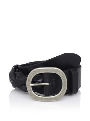 John Varvatos Star USA Men's Braided Belt (Black)