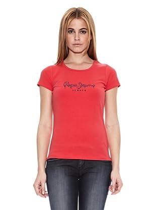 Pepe Jeans London Camiseta Rose (Rojo)