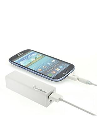 Blautel iPhone 3/4 Estación de Carga Pw Bank 2400 Blanco
