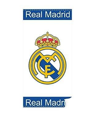 Real Madrid Toallas De Playa Soccer T. (Blanco)