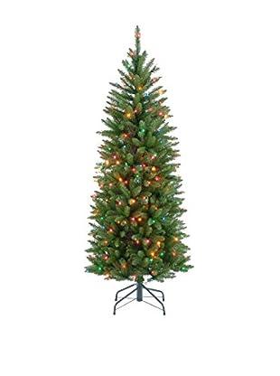 National Tree Company 4.5' Kingswood Fir Hinged Pencil Tree