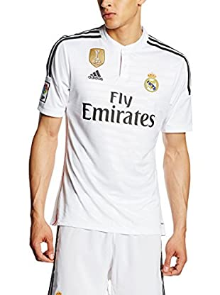 adidas Camiseta de Fútbol Wc Real H Jsy White