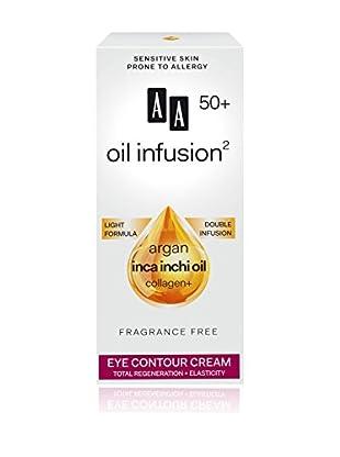 AA Cosmetics Augenkonturencreme Oil Infusion 50+ 15 ml, Preis/100 ml: 66.33 EUR