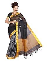 Manisha Silks Cotton Saree (Mansthctn2171 _White)
