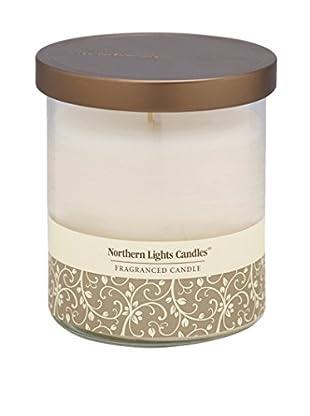 Northern Lights 14-Oz. Glass Pillar Candle, Evening Musk