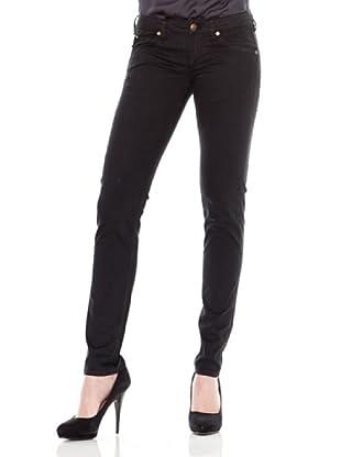 Calvin Klein Jeans Pantalón 5 Bolsillos Saten (Gris Antracita)