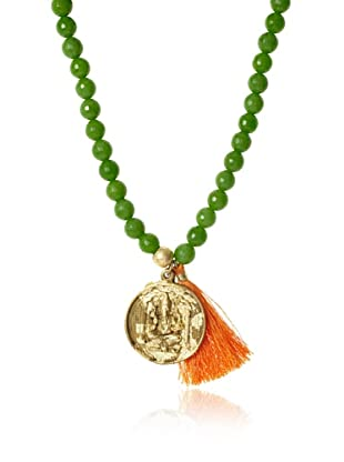 Lead Apple Green Buddha Necklace/Bracelet