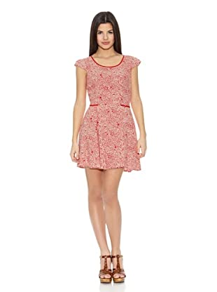 Springfield Vestido False Dots Dress (Rojo)