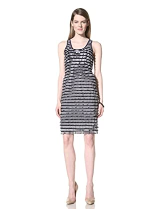 Z Spoke Zac Posen Women's Stripe Dress (Navy)