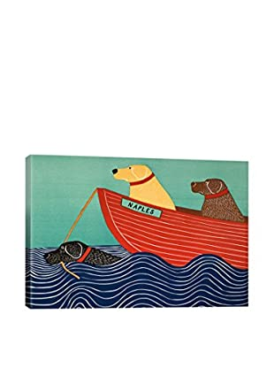 Stephen Huneck Friendship Canvas Print, Multi, 18