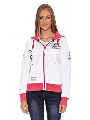 Geographical Norway Sudadera Fructueuse Lady (Blanco)