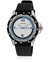 Sonata Analog White Dial Men's Watch - NF7930PP09J